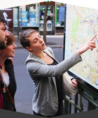 Balade à pied avec Justine pour découvrir Paris