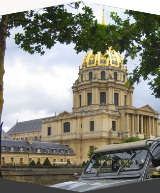 Authentic 2CV Tour in Paris