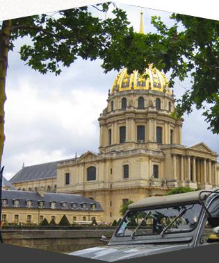 Balade classique et originale de jour en 2CV pour découvrir Paris